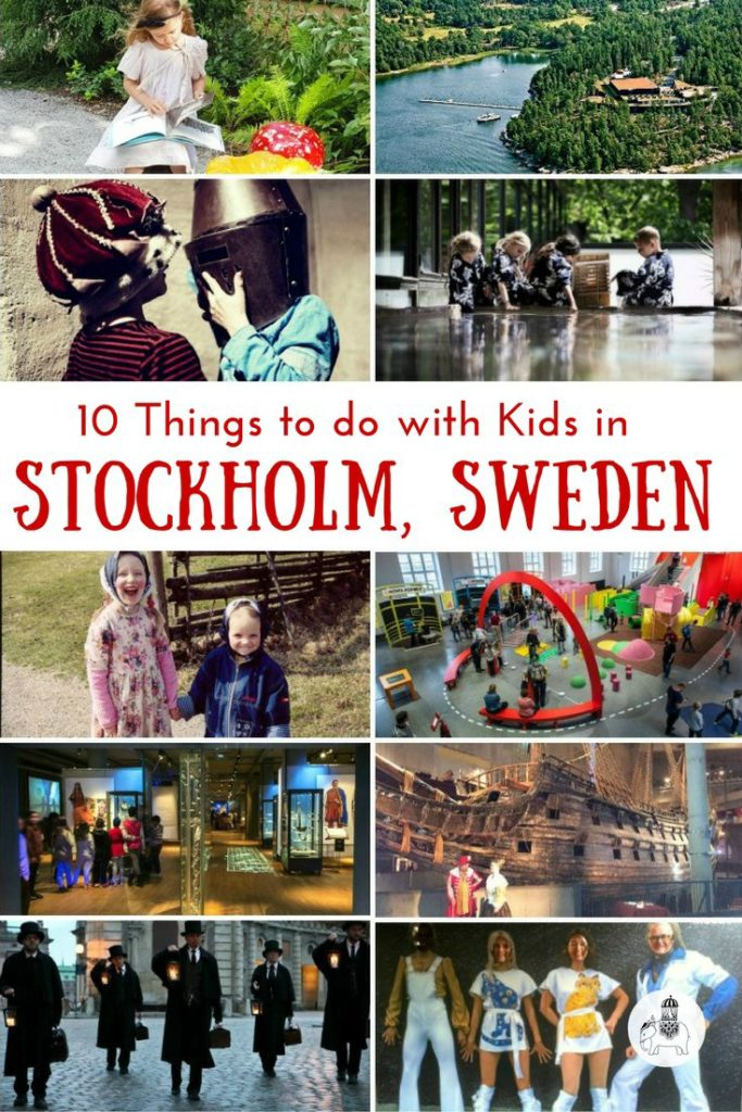 10 Things to do with kids in Stockholm, Sweden via @globetotting