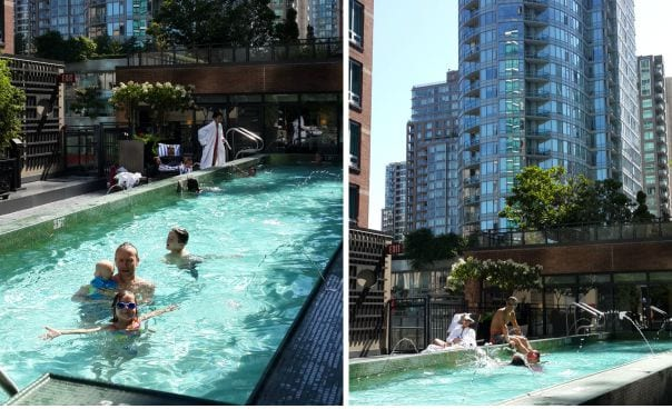 Family Hotel Review: L'Hermitage Hotel Vancouver, Canada