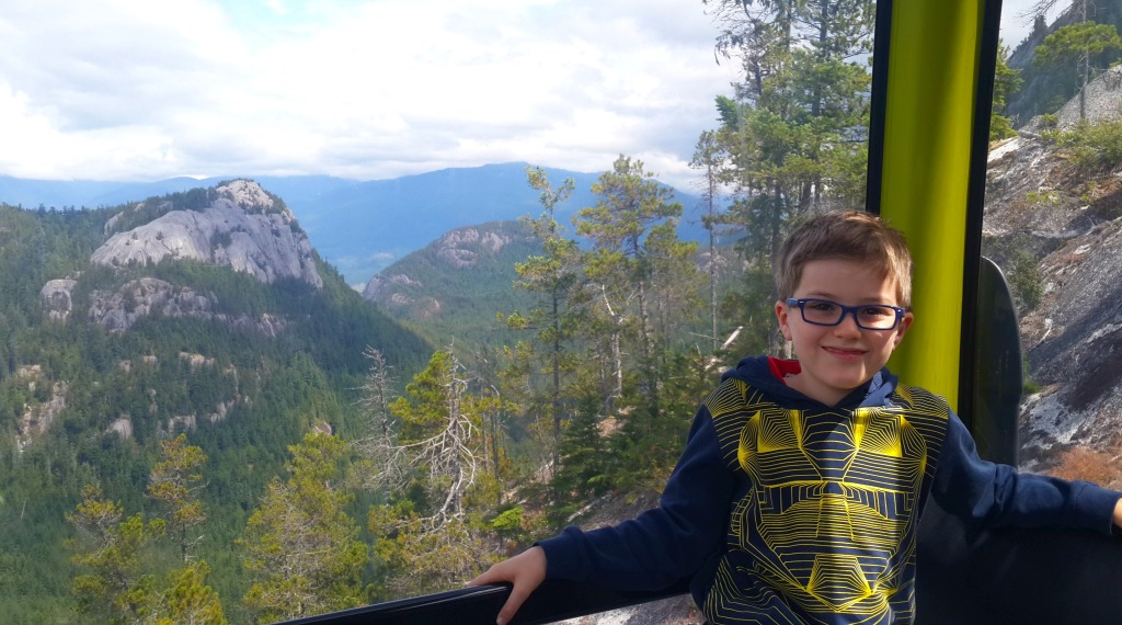The Sea to Sky Gondola, Squamish, with Kids – Canada