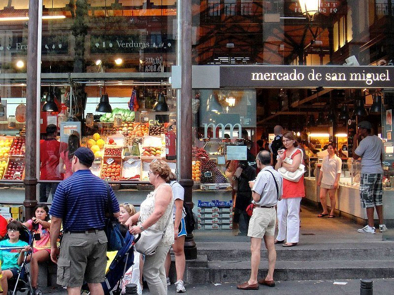 Madrid with kids: San Miguel Market