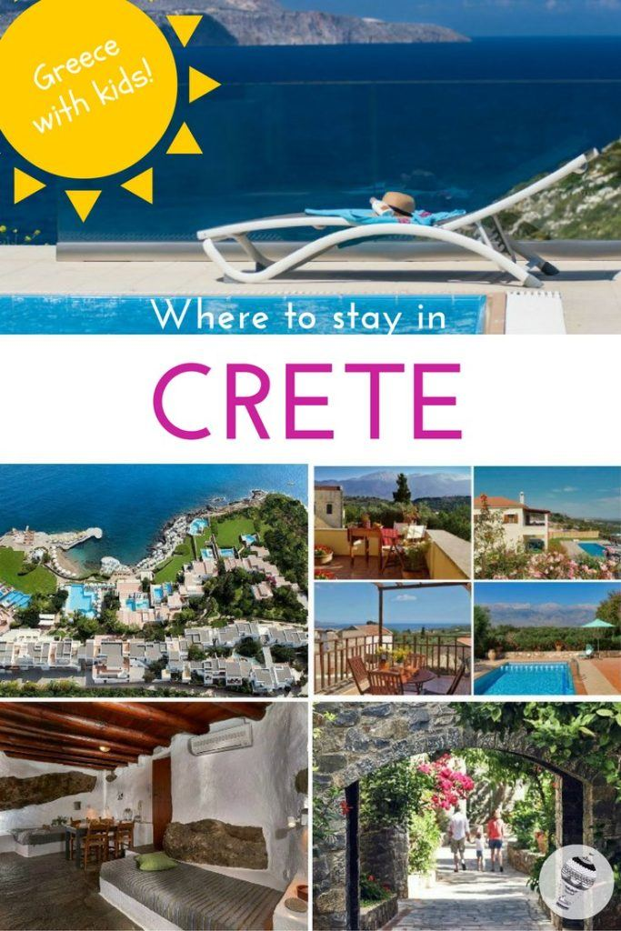 Greece with kids: Where to stay in Crete - a guide to child-friendly hotels and villas
