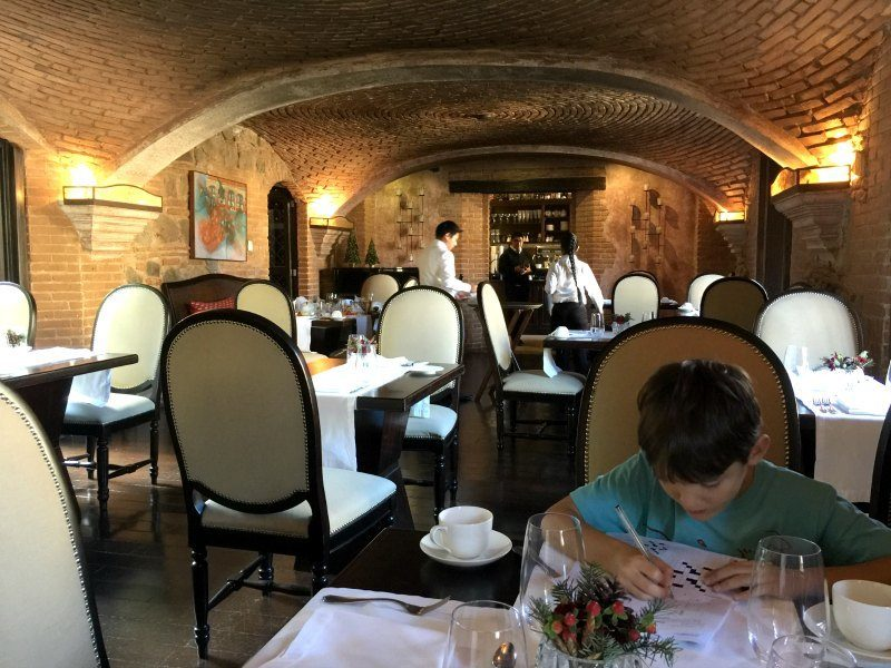 Guatemala with Kids: Where to eat in Antigua