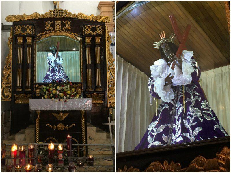 Panama with kids: The Black Christ of Portobelo
