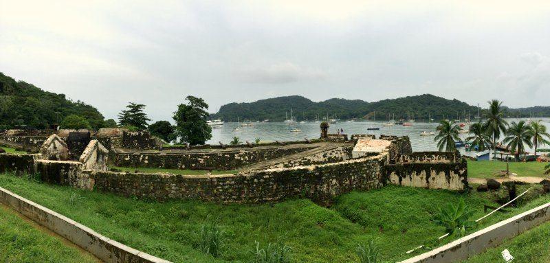 Panama with kids: Santiago Fort in Portobelo