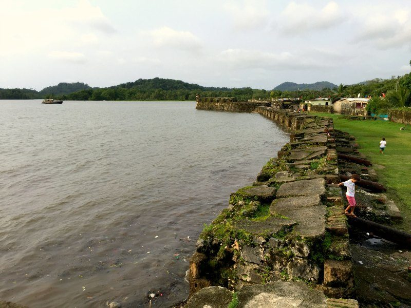 Panama with kids: San Jerónimo Fort in Portobelo