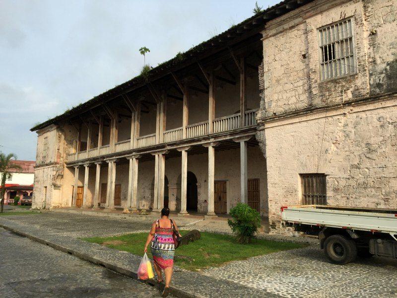 Panama with kids: The Custom's House