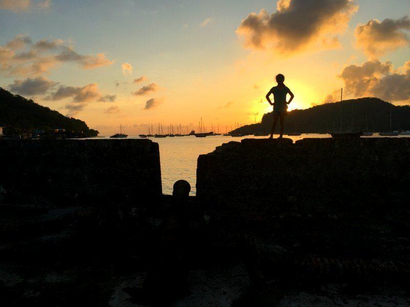 Panama with kids: Portobelo forts