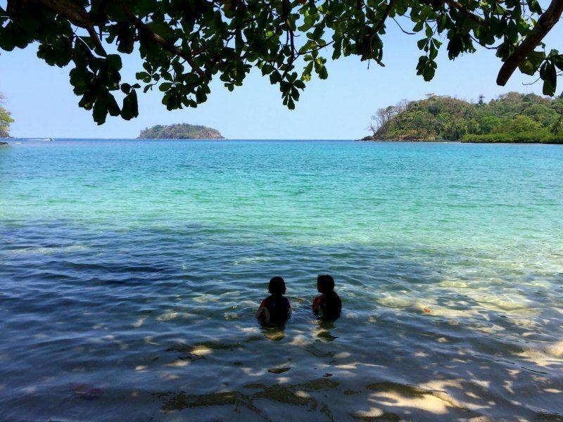 Panama with kids: Playa Blanca