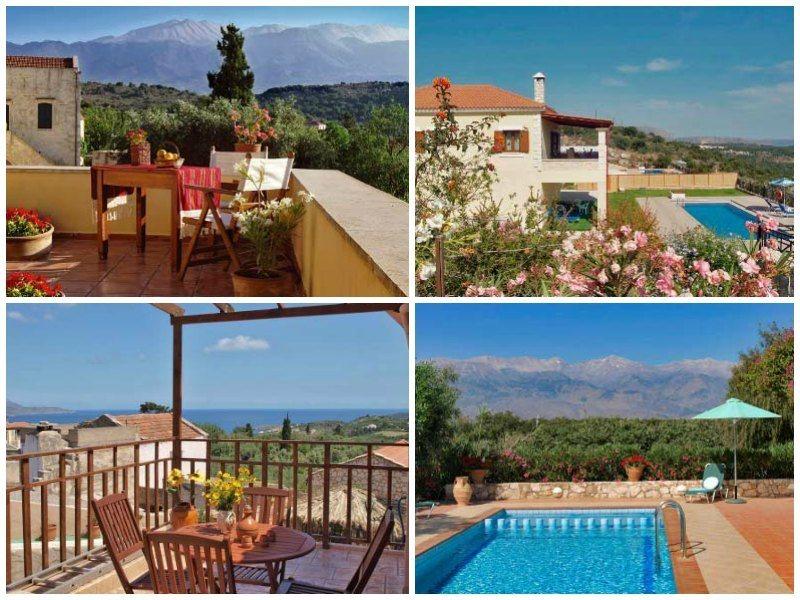 child-friendly hotels in crete: Vamos Traditional Village