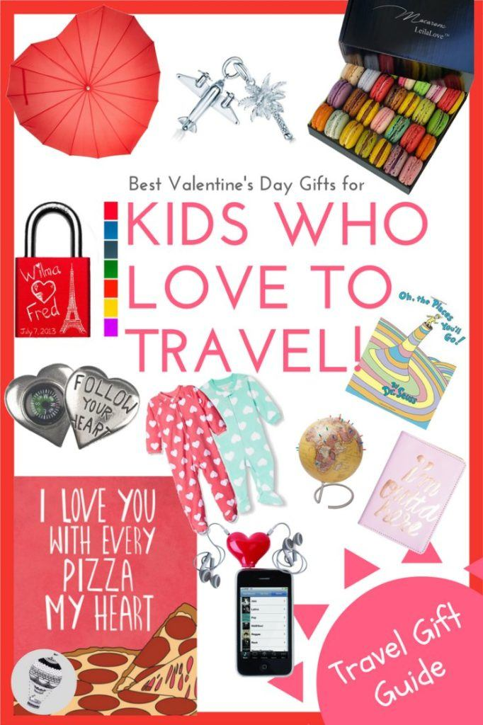 Best Valentine's Day Gifts for Kids Who Love to Travel via @globetotting