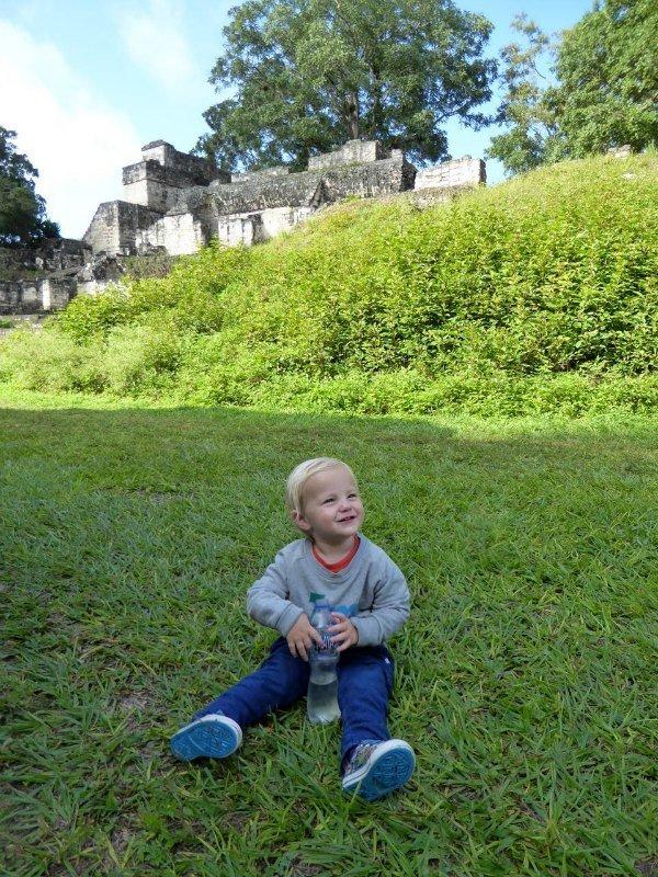 Tikal with Kids