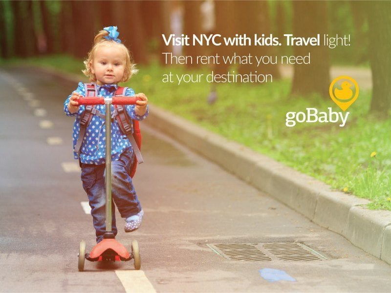 Make your Family Travel Life Easy with goBaby and Win in our Giveaway