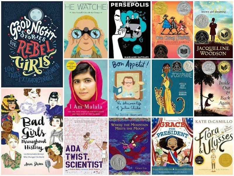 Books for Girls: Inspired by International Women's Day