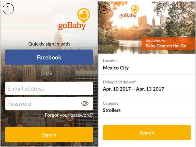 goBaby giveaway