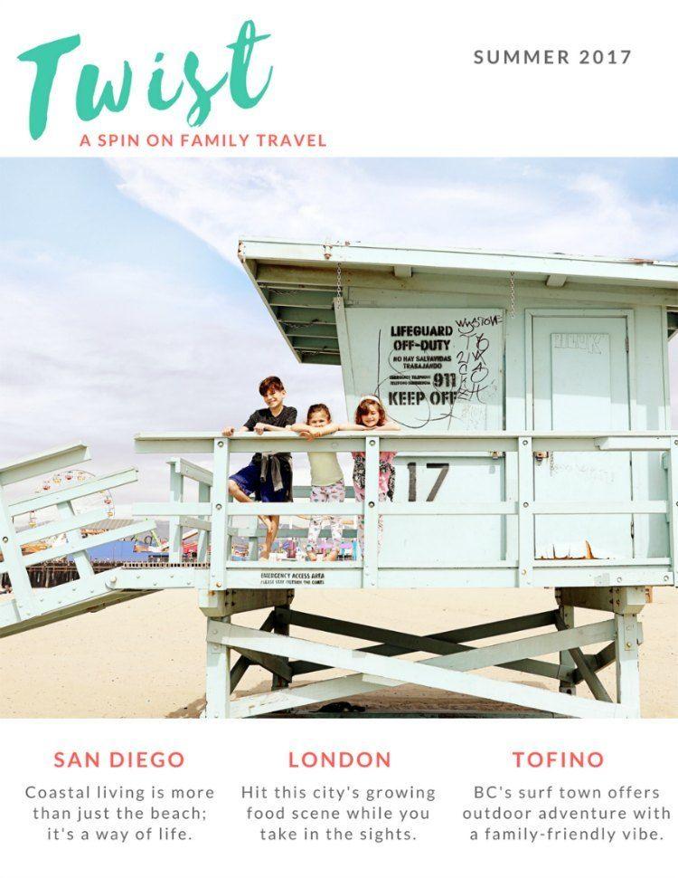 Family Travel Magazine TWIST Summer Issue 2017
