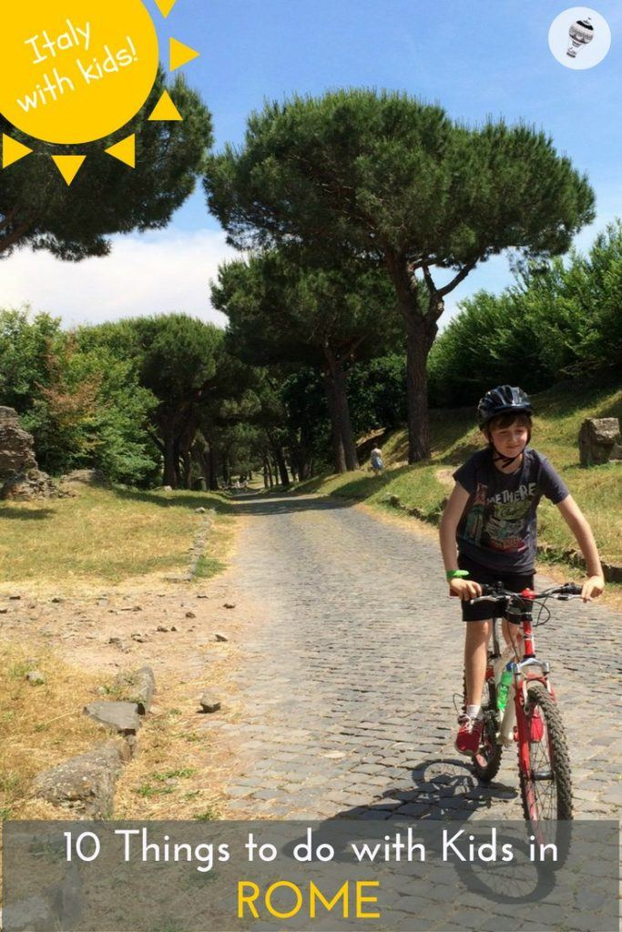 Italy with Kids: 10 Things to do in Rome for all the family