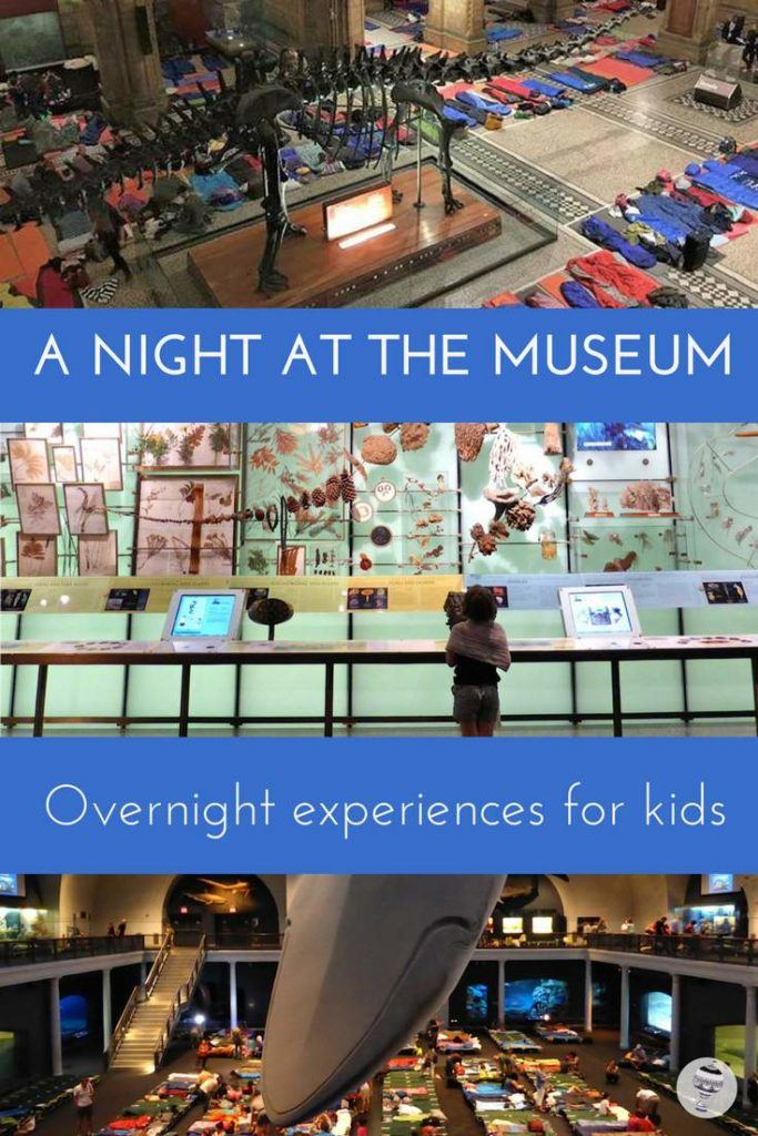 A night at the museum: The best overnight experiences in museums and galleries for kids