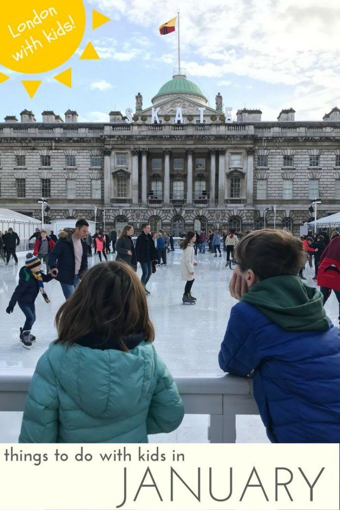 Things to do in London in January with Kids