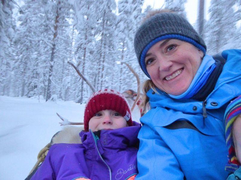 Reindeer Safari with Snow Fun Saris Finland