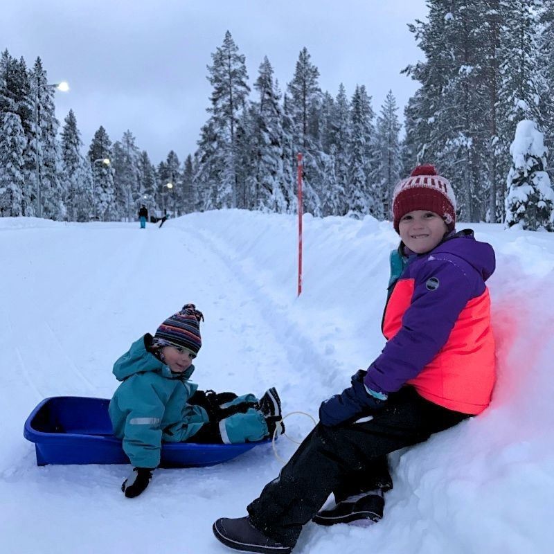 What to pack for Finland Lapland for kids