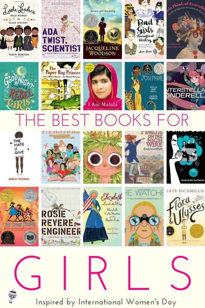 Best books to inspire girls