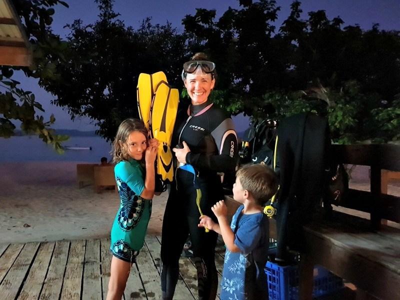 Dimakya Island with kids