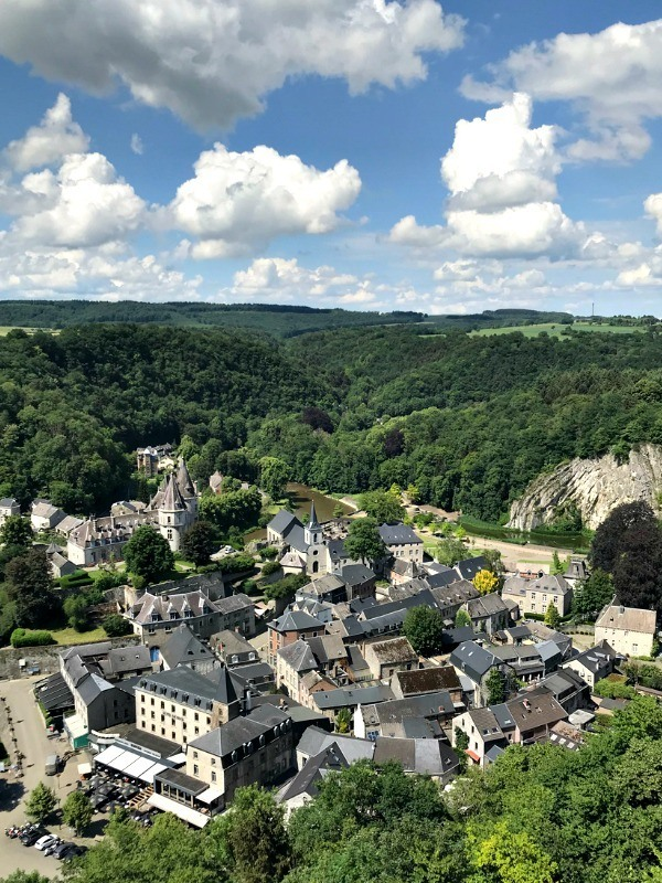 Durbuy, the smallest city in the world. Belgium