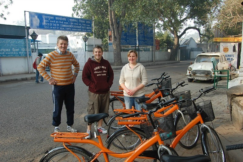 Delhi By Cycle; things to do in Delhi with kids