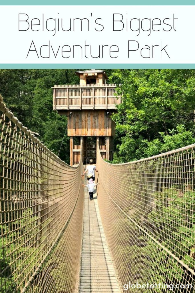 Things to do in Belgium, visit Adventure Valley in Durbuy, Wallonia Region. Activities and things to do for the whole family. #globetotting #familytravel #travel #travelwithkids #kidslovetravel #europe