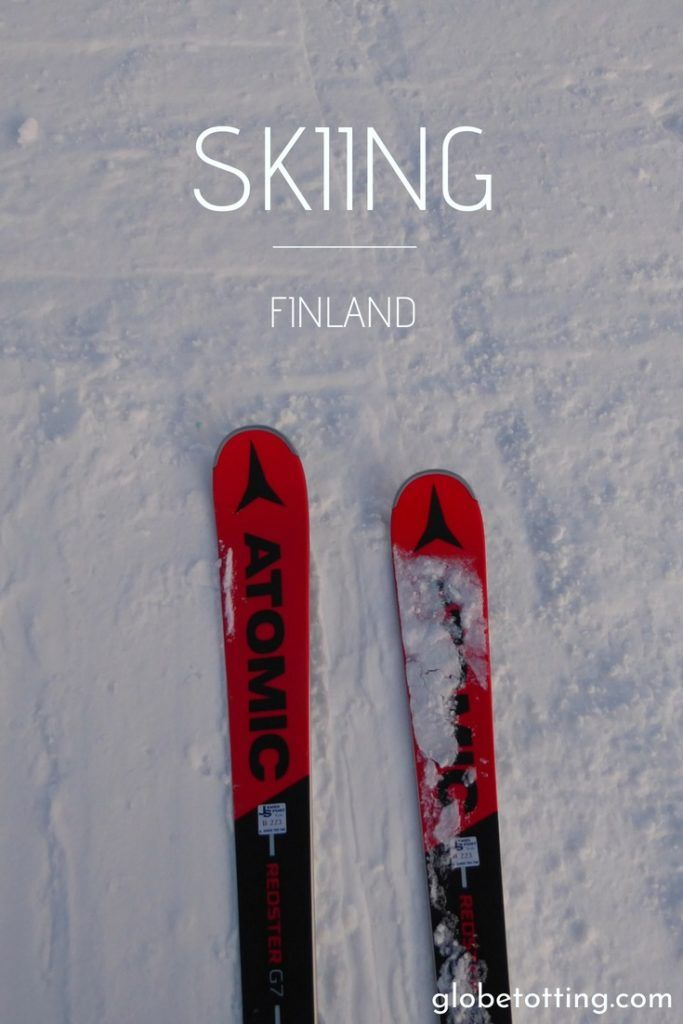 Skiing in Europe, skiing in Finland. Where to ski in Finland. #globetotting #familytravel #travel #travelwithkids #kidslovetravel