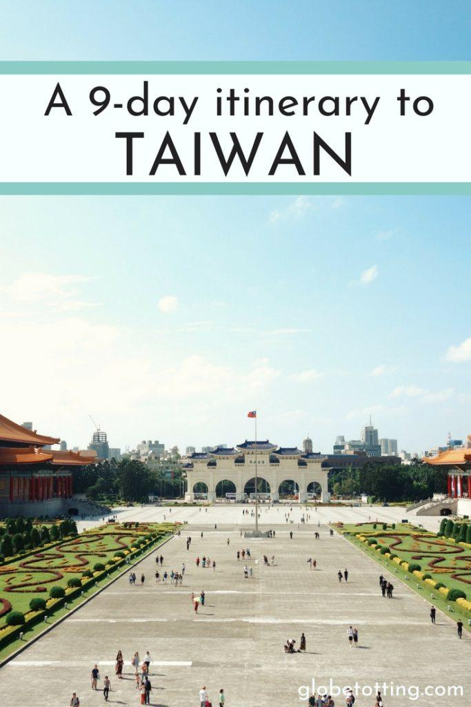 The perfect 9-day family itinerary to discover Taiwan with kids. #globetotting #familytravel #travel #travelwithkids #kidslovetravel