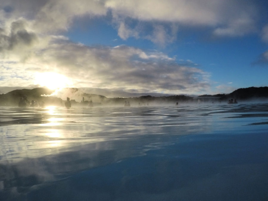 The Blue Lagoon with kids