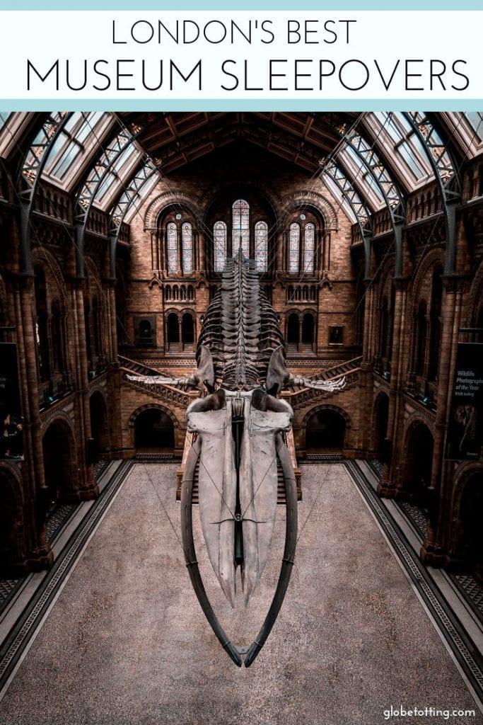 The best museum sleepovers in London I #globetotting #familytravel #London #museums #kidslovetravel