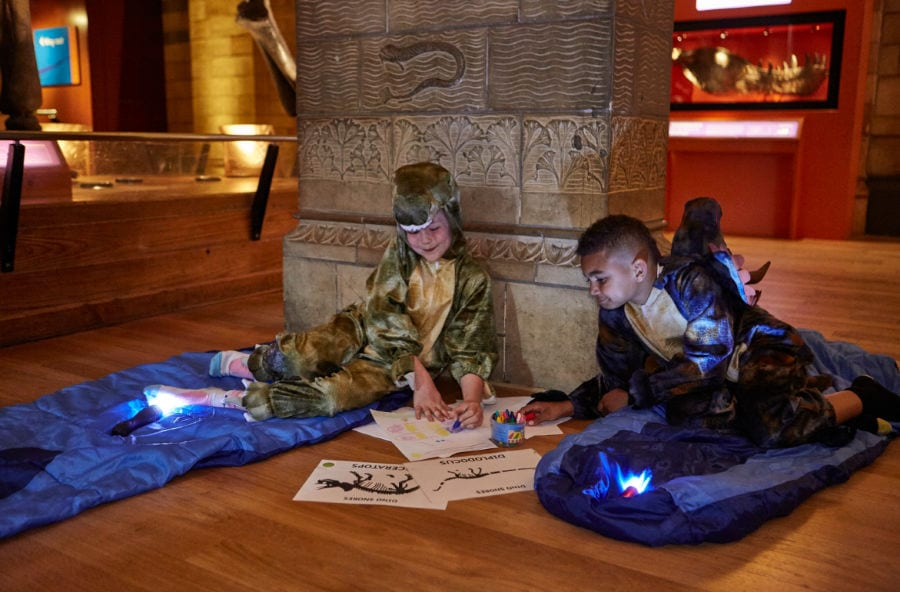 The best museum sleepovers in London for kids