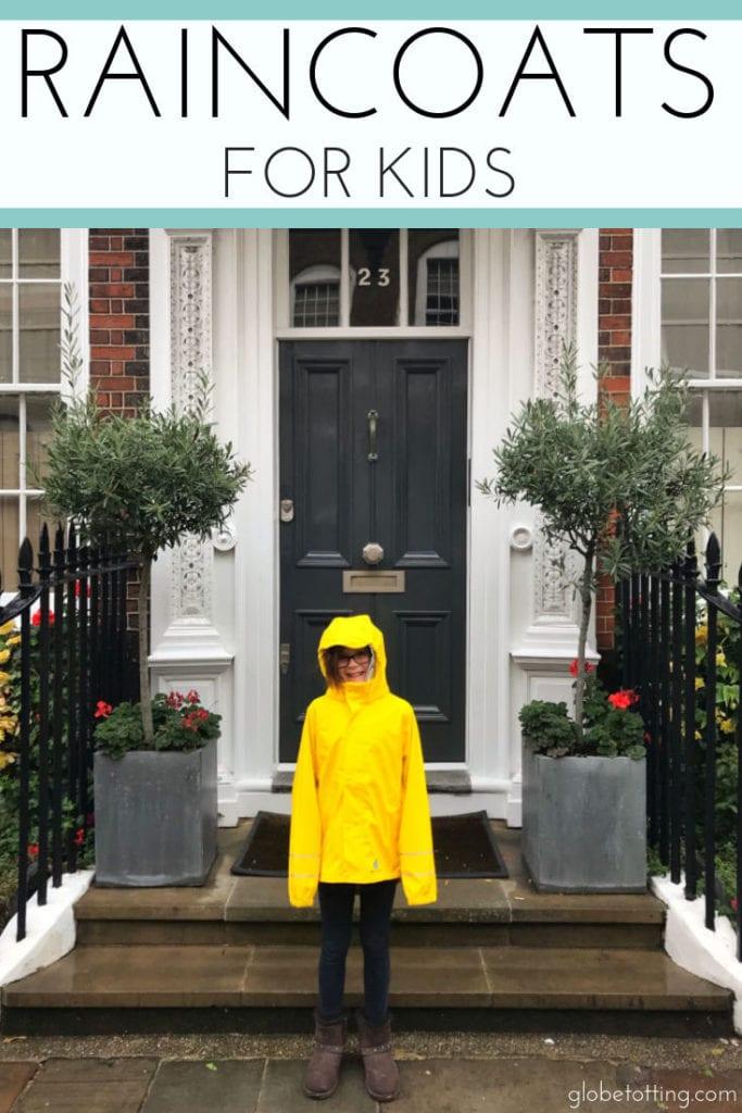 DryKids, Raincoats for kids: #globetotting #familytravel #travel #travelwithkids #kidslovetravel