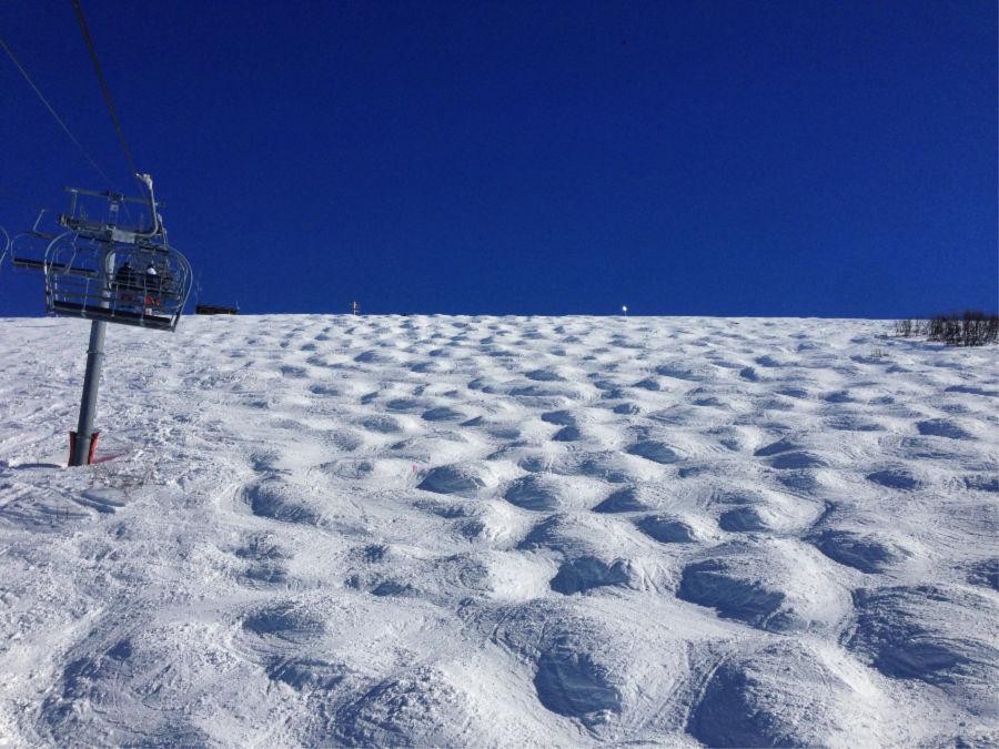 New Year's Skiing