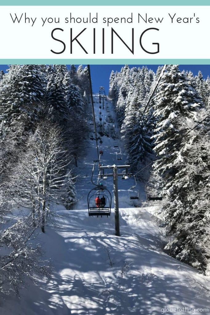 New Year's Skiing I #globetotting #familytravel #travel #travelwithkids #kidslovetravel
