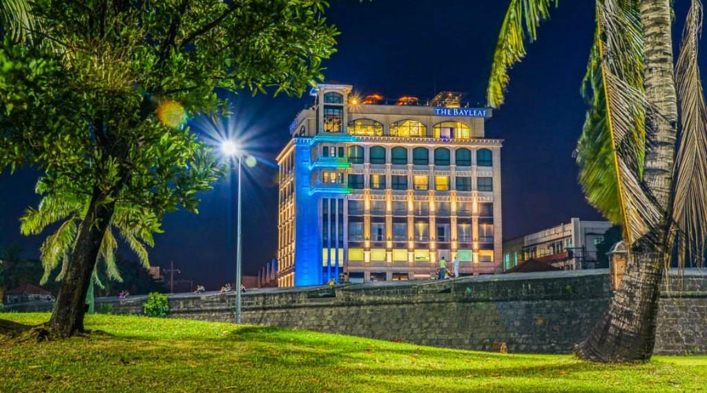 Bayleaf Hotel at Night
