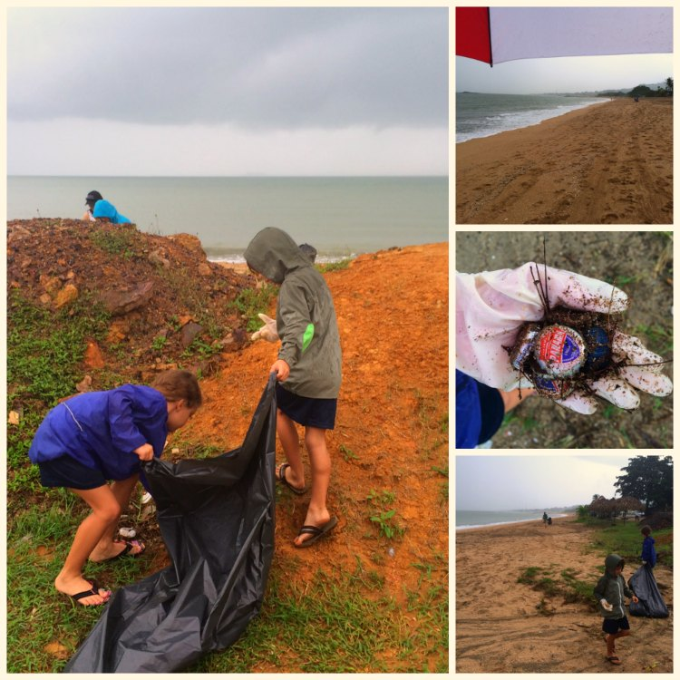 Beach Cleanup Panama