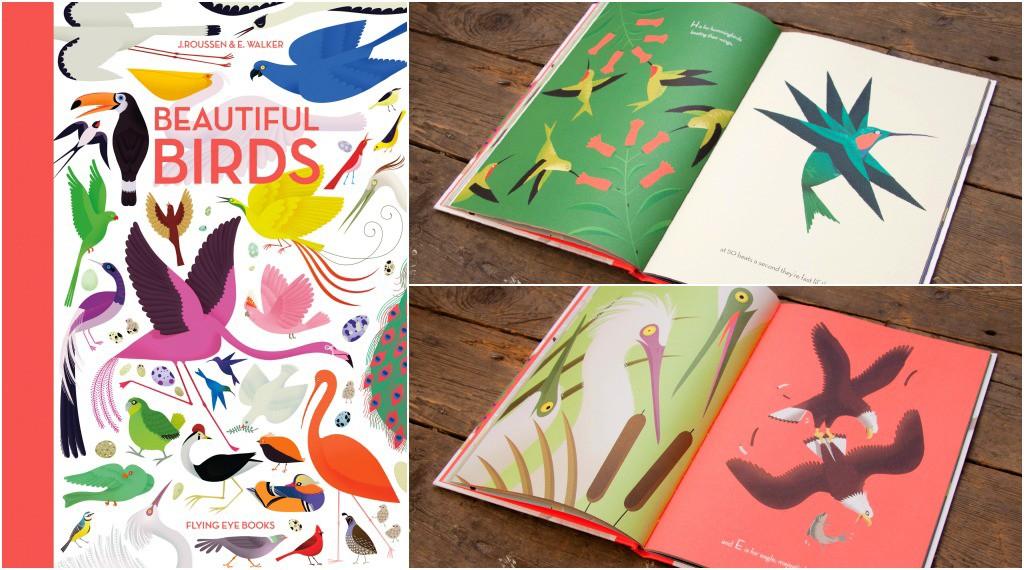 Best Books for Children Beautiful Birds by Emmanuelle Walker.