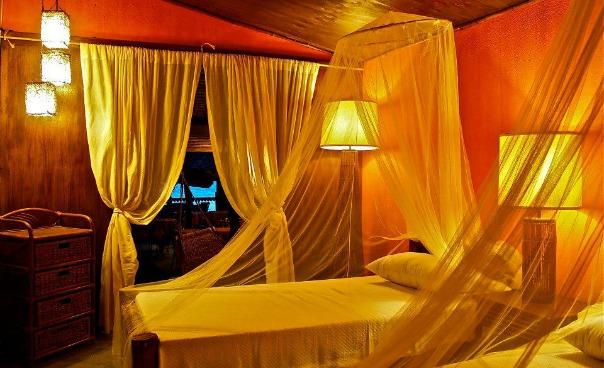 Hut interiors