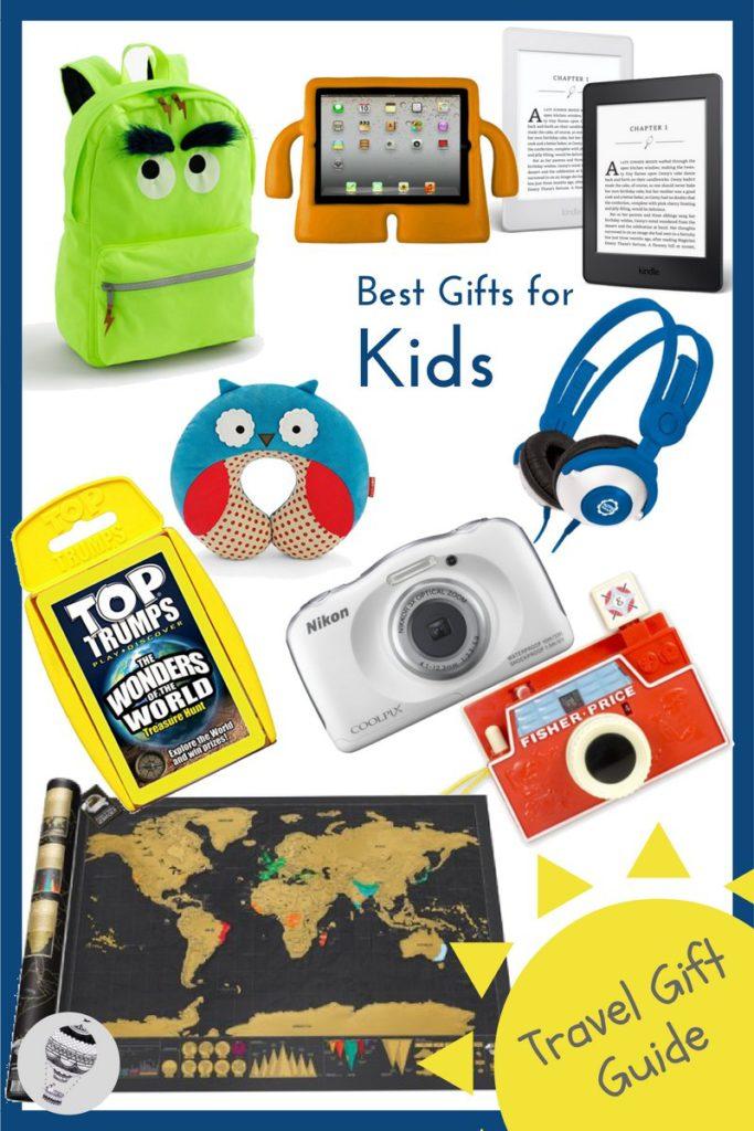 Best travel gifts for kids via @globetotting