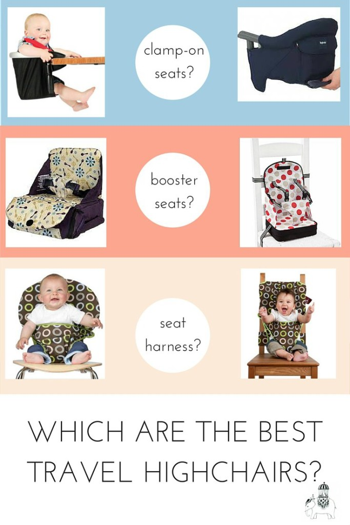 We review the best travel highchairs