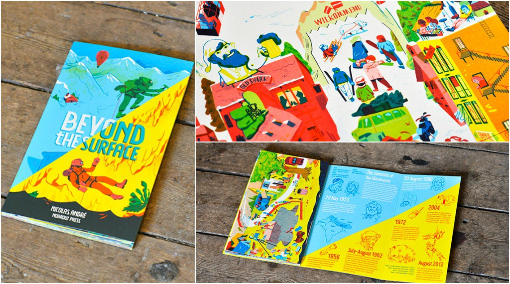 Best Books for Children Beyond the Surface by Nicolas Andre