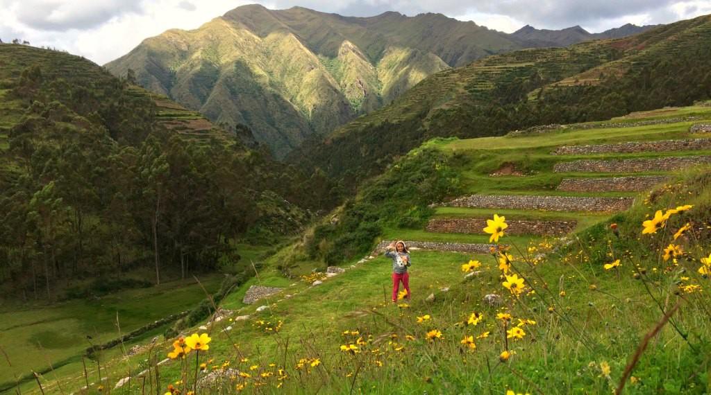 Chincheros terraces, Peru
