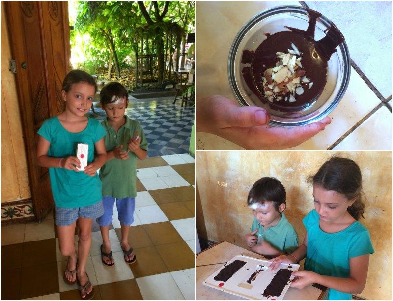 Choco Museo: Making a chocolate bar. Granada. Nicaragua with Kids