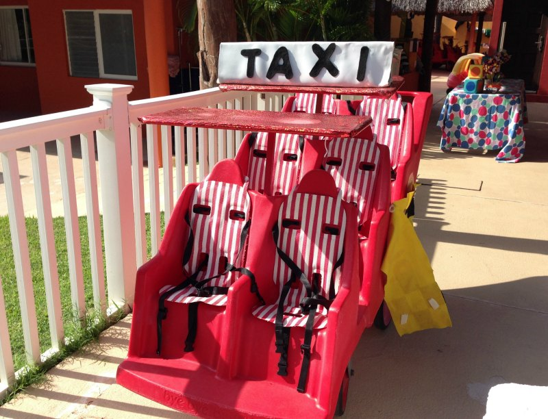 The Baby Club Med Taxi
