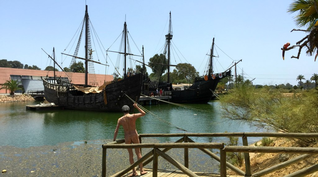 Spain with Kids: Sailing the seas with Christopher Columbus