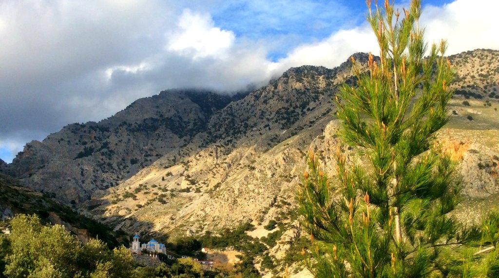 Crete scenic drive