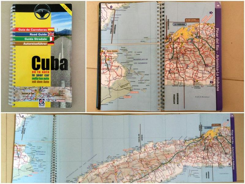 Cuba road map Cuba: Road Guide (Escandon Edicones)